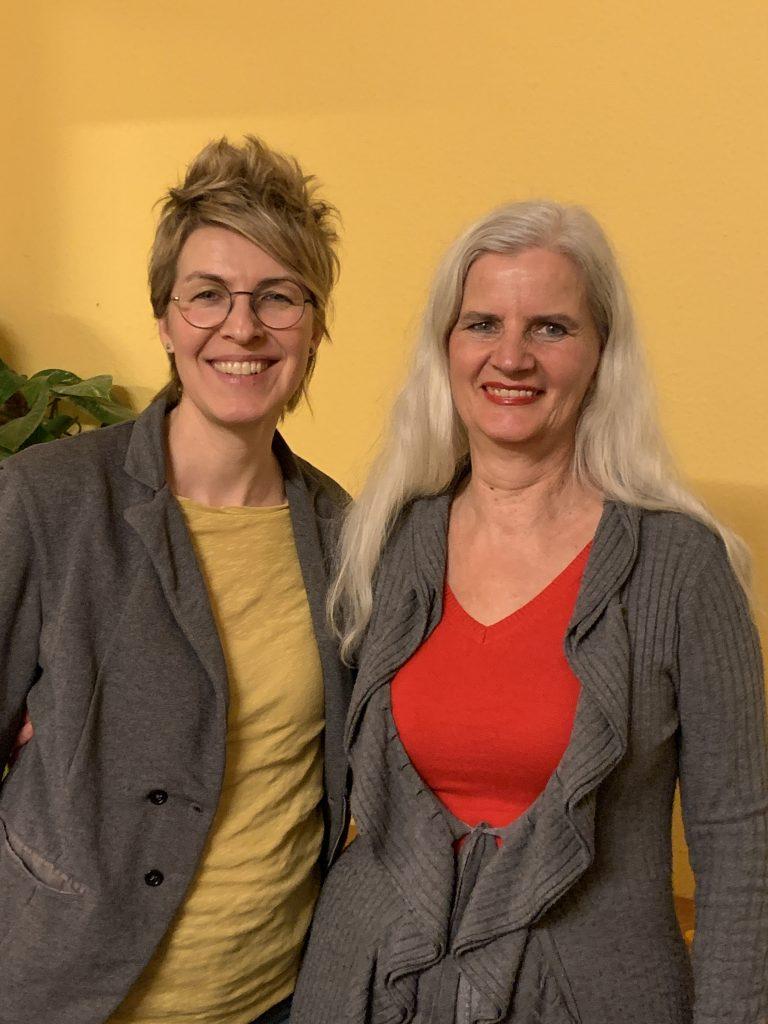 Koordinatorin Tanja Marotzke und Ullaa Dieker